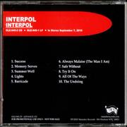 Click here for more info about 'Interpol - Interpol'
