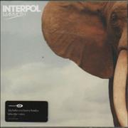 Click here for more info about 'Interpol - Mammoth'