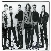 Click here for more info about 'Inxs - Autographed Photo'