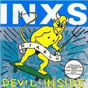 """Inxs Devil Inside UK 10"""" vinyl"""