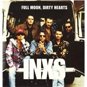 Inxs Full Moon, Dirty Hearts UK vinyl LP