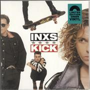 Click here for more info about 'Inxs - Kick - Green Vinyl - Sealed'