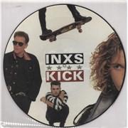 Inxs Kick UK picture disc LP