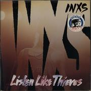 Click here for more info about 'Inxs - Listen Like Thieves - Hype Stickered + Insert'
