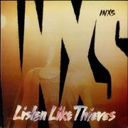 Inxs Listen Like Thieves UK vinyl LP