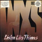 Click here for more info about 'Inxs - Listen Like Thieves - Stickered'