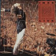 Inxs Live Baby Live UK vinyl LP