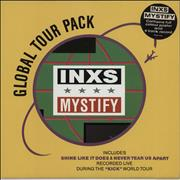 "Inxs Mystify - Global Tour Pack UK 12"" vinyl"