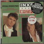 Click here for more info about 'Inxs - Mystify - Sticker Pack - Sealed'