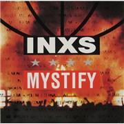 """Inxs Mystify - Sticker Pack UK 7"""" vinyl"""