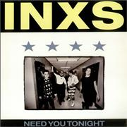 "Inxs Need You Tonight UK 12"" vinyl"