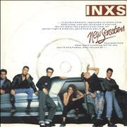 "Inxs New Sensation UK 7"" vinyl"