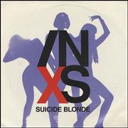 Click here for more info about 'Inxs - Suicide Blonde - Paper label & sleeve'