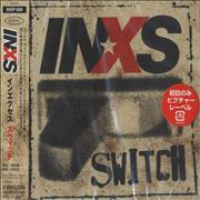 Inxs Switch Japan CD album Promo