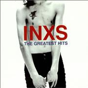 Inxs The Greatest Hits UK 2-LP vinyl set