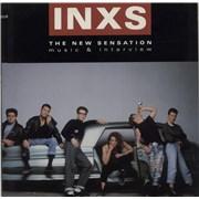 Inxs The New Sensation - Music & Interview USA 2-LP vinyl set Promo