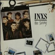 Click here for more info about 'Inxs - The Swing - Gold Promo Stamp'