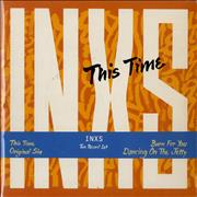 """Inxs This Time Double Pack UK 7"""" vinyl"""