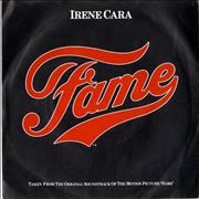Click here for more info about 'Irene Cara - Fame - Picture sleeve'