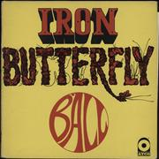 Click here for more info about 'Iron Butterfly - Ball - 1st'