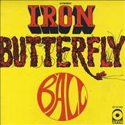 Click here for more info about 'Iron Butterfly - Ball'