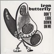 "Iron Butterfly Don't Look Down On Me - Sealed USA 7"" vinyl"