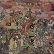 Iron Butterfly Live UK vinyl LP