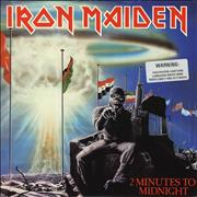 Click here for more info about 'Iron Maiden - 2 Minutes To Midnight - 'Warning' stickered'