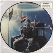 Click here for more info about 'Iron Maiden - 2 Minutes To Midnight - Warning Stickered'