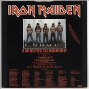 Click here for more info about 'Iron Maiden - 2 Minutes To Midnight - EX'