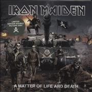Click here for more info about 'Iron Maiden - A Matter Of Life And Death - EX'