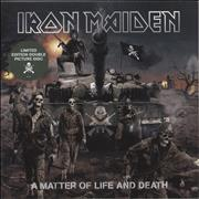 Click here for more info about 'Iron Maiden - A Matter Of Life And Death - Sealed'