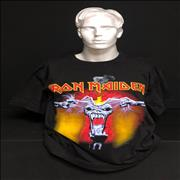 Iron Maiden A Real DEAD One - Ripped Head - Black - XL UK t-shirt