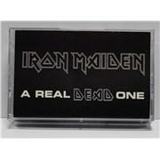 Iron Maiden A Real DEAD One USA cassette album Promo