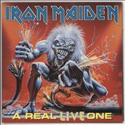 Iron Maiden A Real LIVE One UK vinyl LP