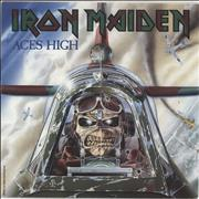 Click here for more info about 'Iron Maiden - Aces High - Paper label'