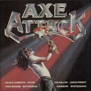 Click here for more info about 'Iron Maiden - Axe Attack - 1st'