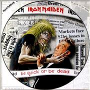 Click here for more info about 'Iron Maiden - Be Quick Or Be Dead + Back Insert'