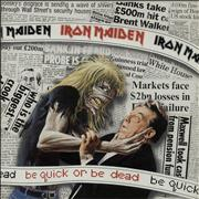 Click here for more info about 'Iron Maiden - Be Quick Or Be Dead - Gatefold'