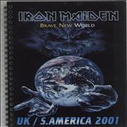 Click here for more info about 'Iron Maiden - Brave New World Tour 2001 - UK / S. America'