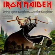 Click here for more info about 'Iron Maiden - Bring Your Daughter To The Slaughter - Ex'