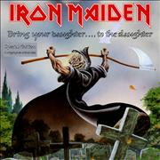Click here for more info about 'Iron Maiden - Bring Your Daughter To The Slaughter - Card Sleeve'