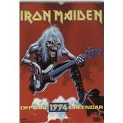 Click here for more info about 'Iron Maiden - Calendar 1994 - Danilo'