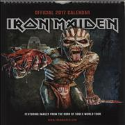 Click here for more info about 'Iron Maiden - Calendar 2017 - Danilo'