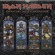 Click here for more info about 'Iron Maiden - Calendar 2019 - Danilo'