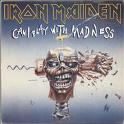 Click here for more info about 'Iron Maiden - Can I Play With Madness - Inj + P/S'