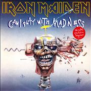 Click here for more info about 'Iron Maiden - Can I Play With Madness - Black Label + Transfer'