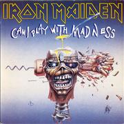 Click here for more info about 'Iron Maiden - Can I Play With Madness + Sleeve'