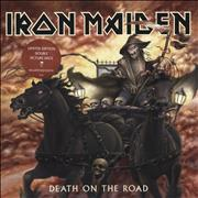 Click here for more info about 'Iron Maiden - Death On The Road - Promo Stickered'