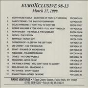 Click here for more info about 'Iron Maiden - EuroXclusive 98-13'
